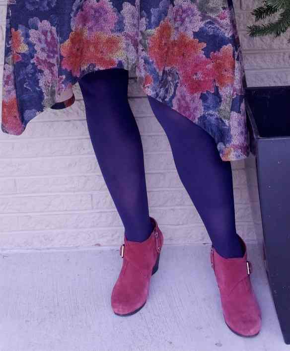 50 IS NOT OLD | TIGHTS AND ANKLE BOOTIES