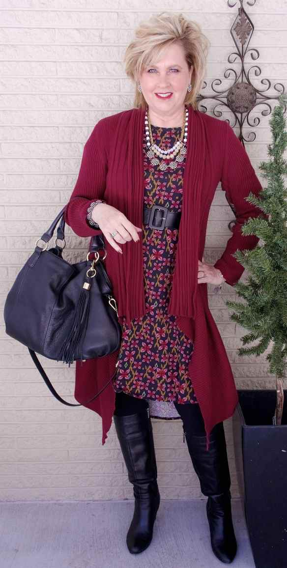 50 IS NOT OLD | IS A CARDIGAN SLIMMING