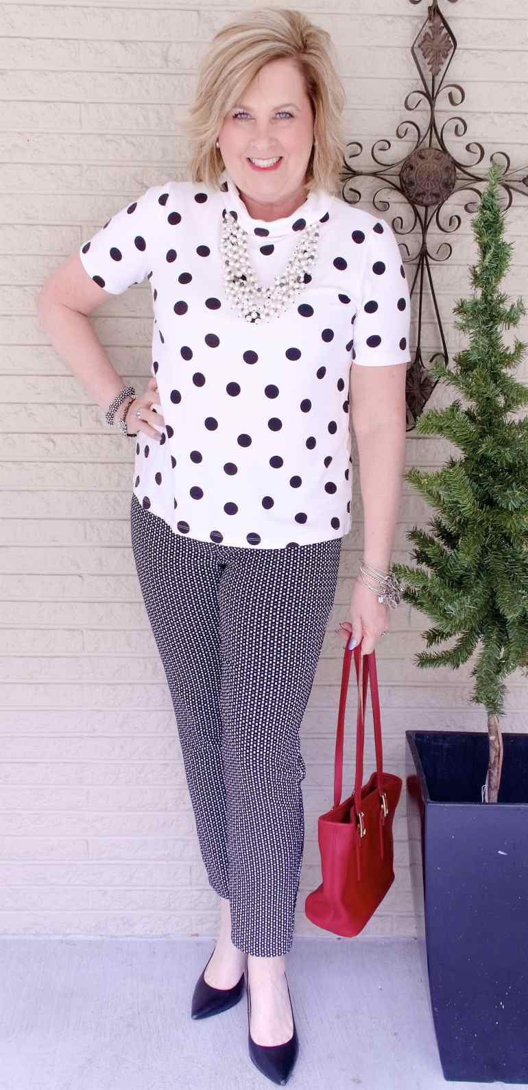 50 IS NOT OLD | PATTERN MIXING FOR BEGINNERS | FASHION OVER 40
