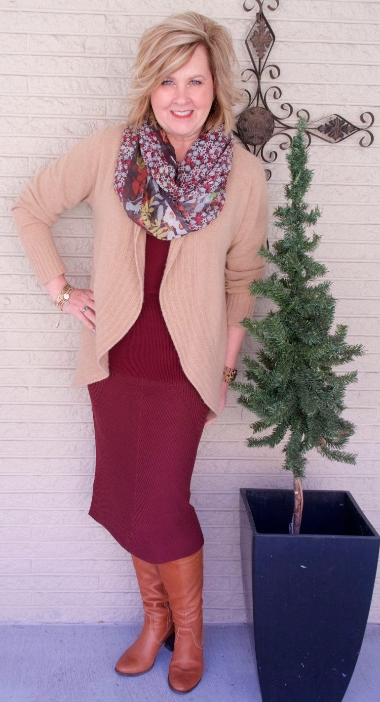 50 IS NOT OLD | BODY HUGGING SKIRT | FASHION OVER 40