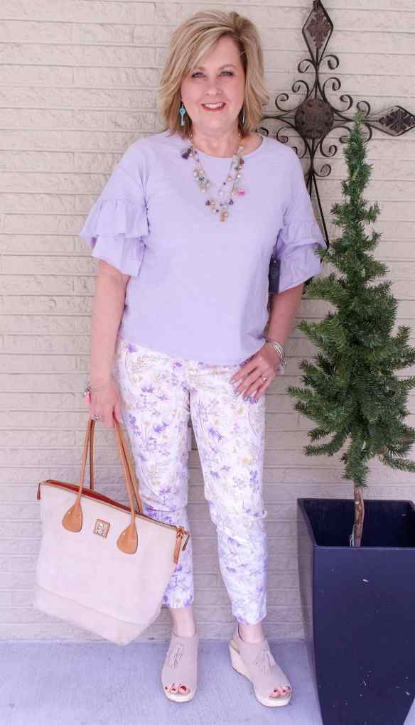 50 IS NOT OLD | PASTELS FOR SPRING | FASHION OVER 40