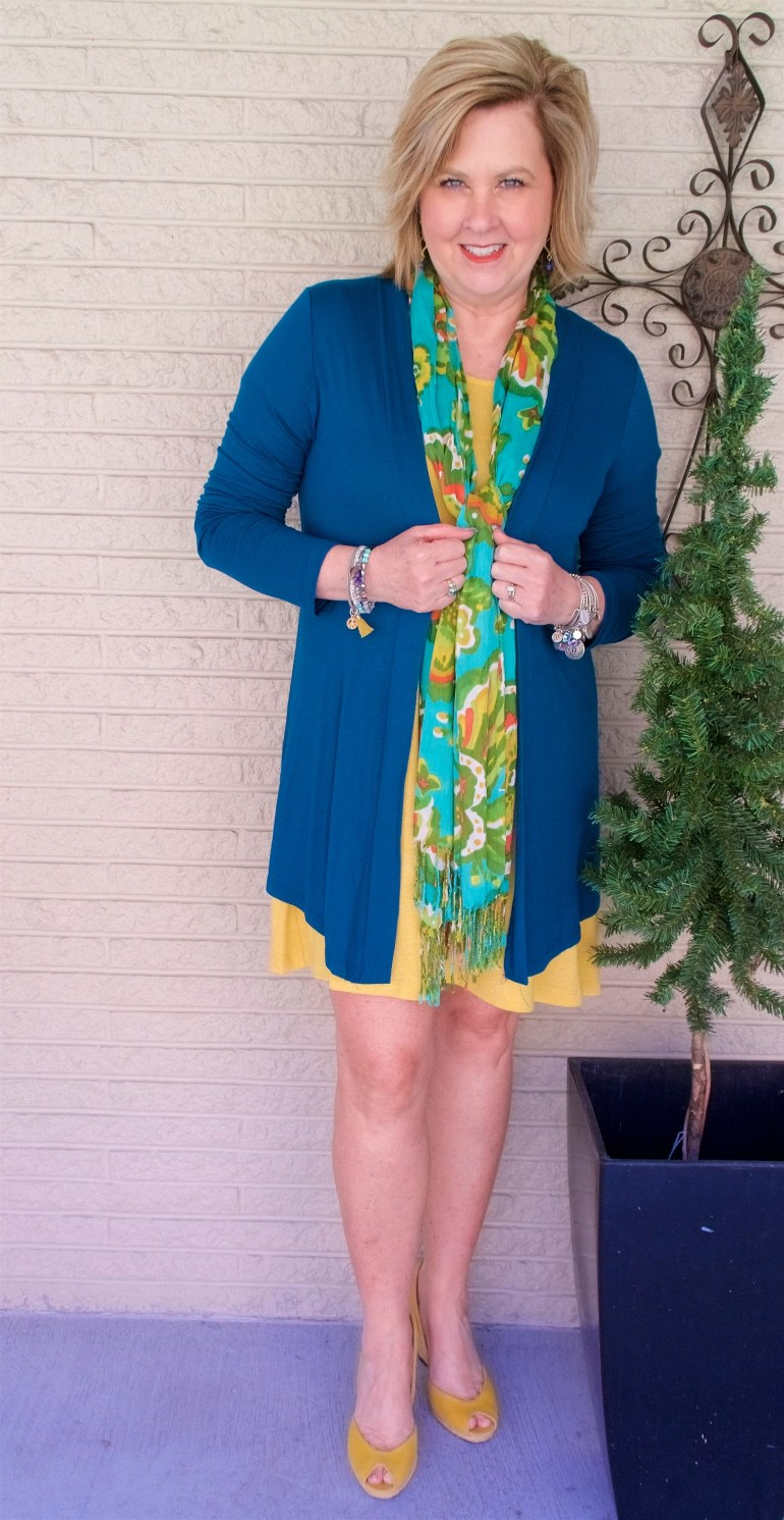 50 IS NOT OLD | WEARING A DRESS ABOVE THE KNEE AT 50 | FASHION OVER 40