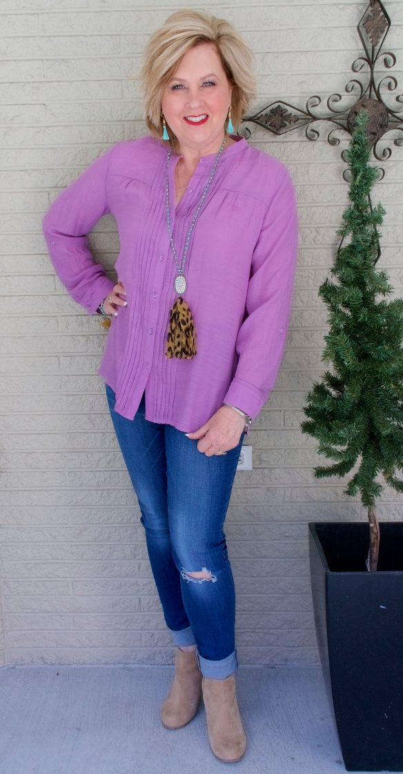 50 IS NOT OLD | ULTRA VIOLET IS THE COLOR OF THE YEAR | FASHION OVER 40