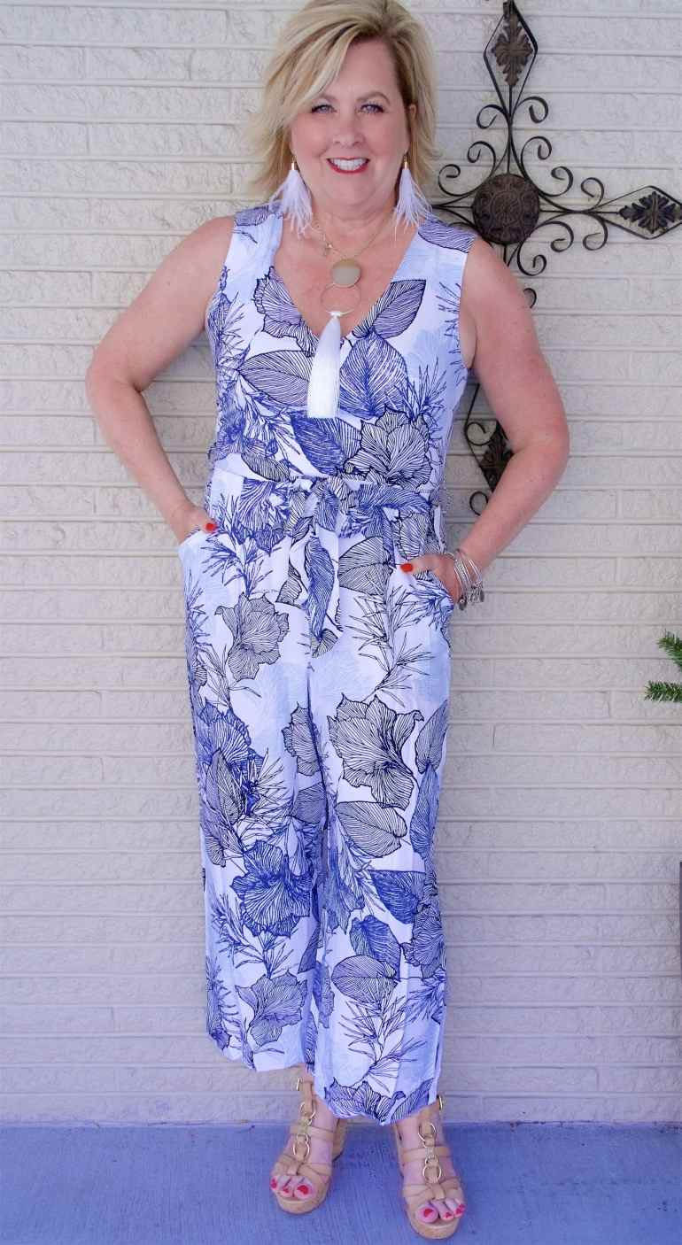 50 IS NOT OLD | WOULD YOU WEAR A JUMPSUIT | FASHION OVER 40