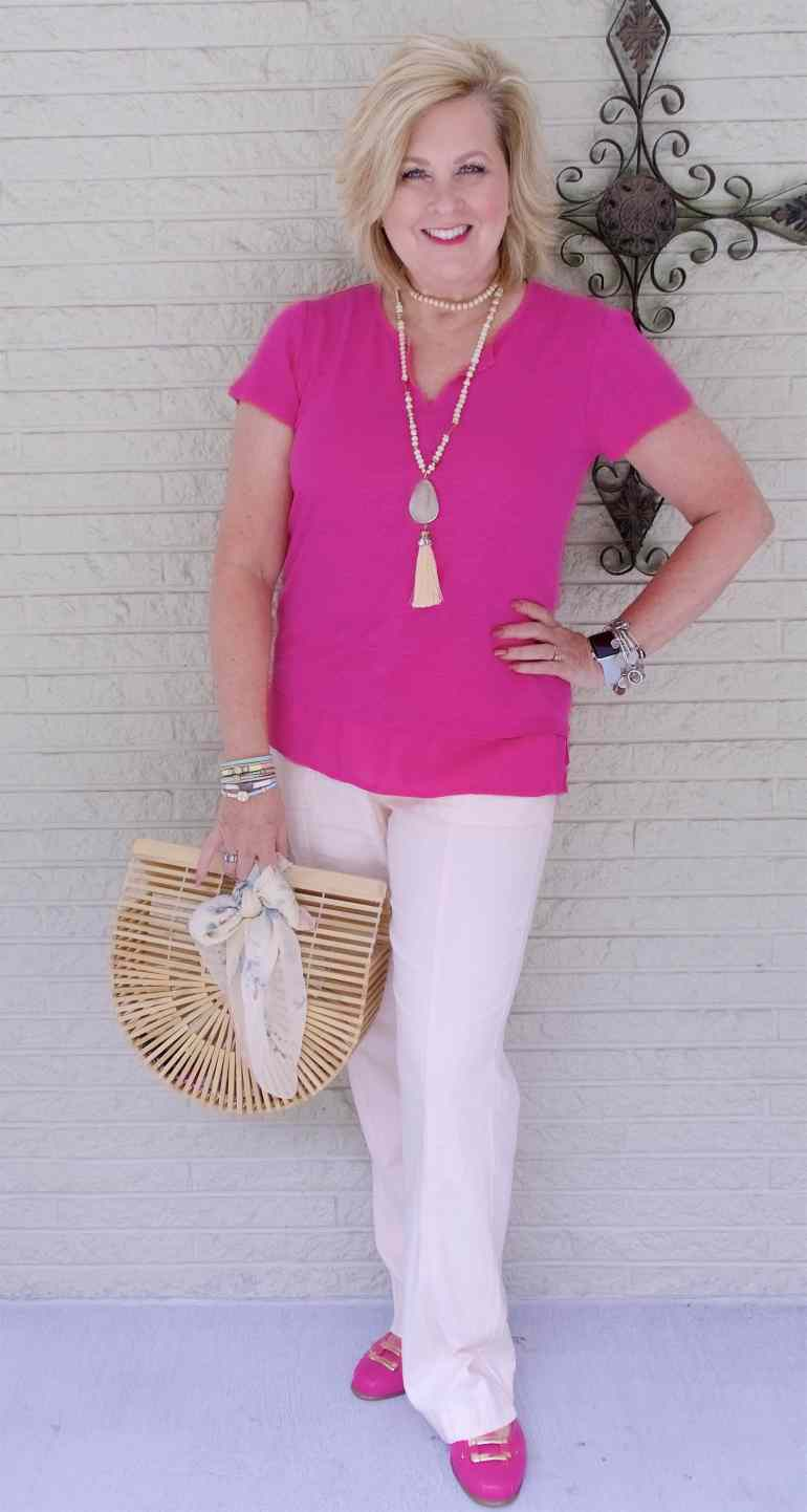 50 IS NOT OLD | LINEN CAN KEEP YOU COOL IN THE SUMMER | FASHION OVER 40