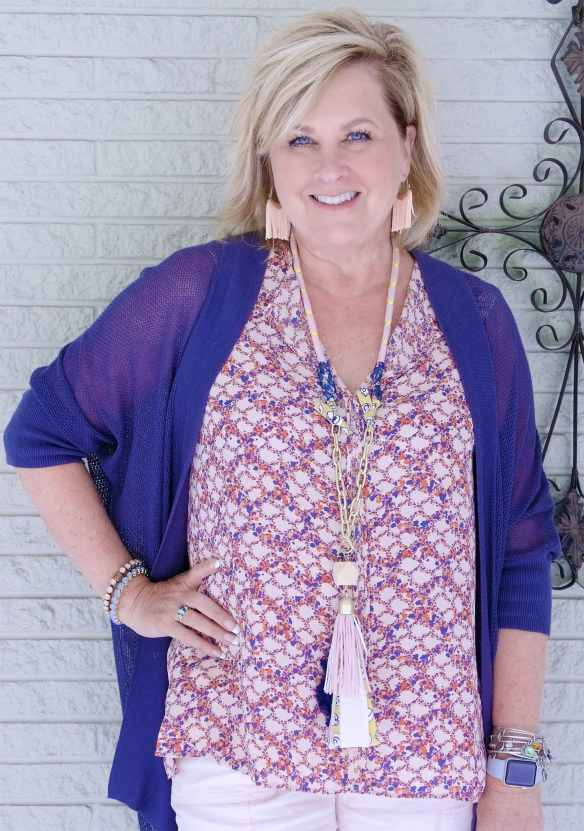 50 IS NOT OLD | HOW TO STYLE THE SAME BLOUSE AND NOT LOOK THE SAME | FASHION OVER 40