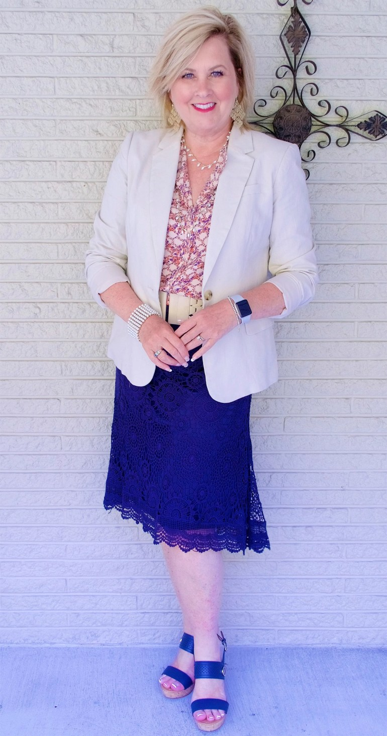 50 IS NOT OLD | SAME BLOUSE AND A DIFFERENT LOOK PART 3 | FASHION OVER 40