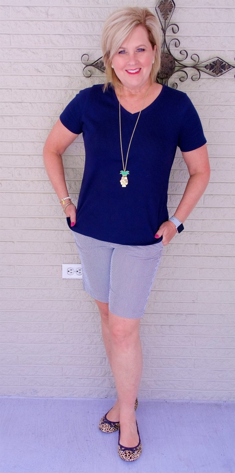 50 IS NOT OLD | T-SHIRT AND A PAIR OF SHORTS | FASHION OVER 40