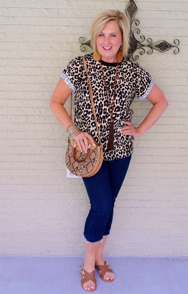 50 IS NOT OLD | LEOPARD AND SNAKE SKIN PRINTS | FASHION OVER 40
