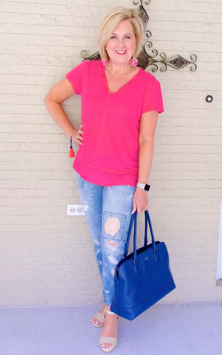 50 IS NOT OLD | WHAT TO WEAR ON LABOR DAY | FASHION OVER 40