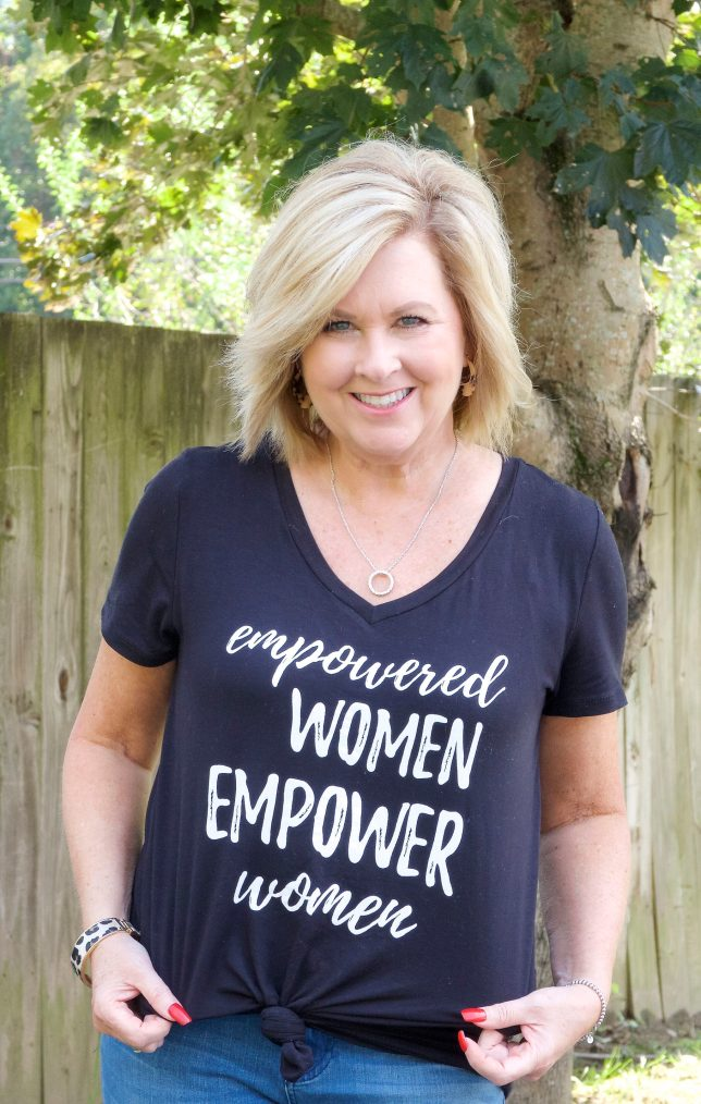50 IS NOT OLD | EMPOWERED WOMEN EMPOWER WOMEN | FASHION OVER 40