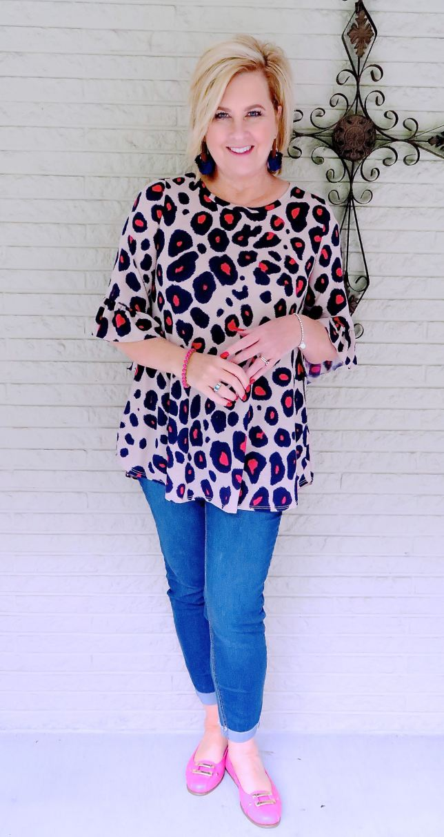 50 IS NOT OLD | BRIGHT LEOPARD PRINT | FASHION OVER 40
