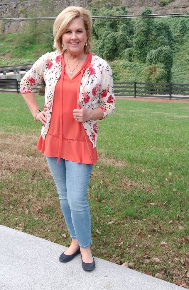50 IS NOT OLD | WEARING SLEEVELESS TOPS IN THE FALL | FASHION OVER 40