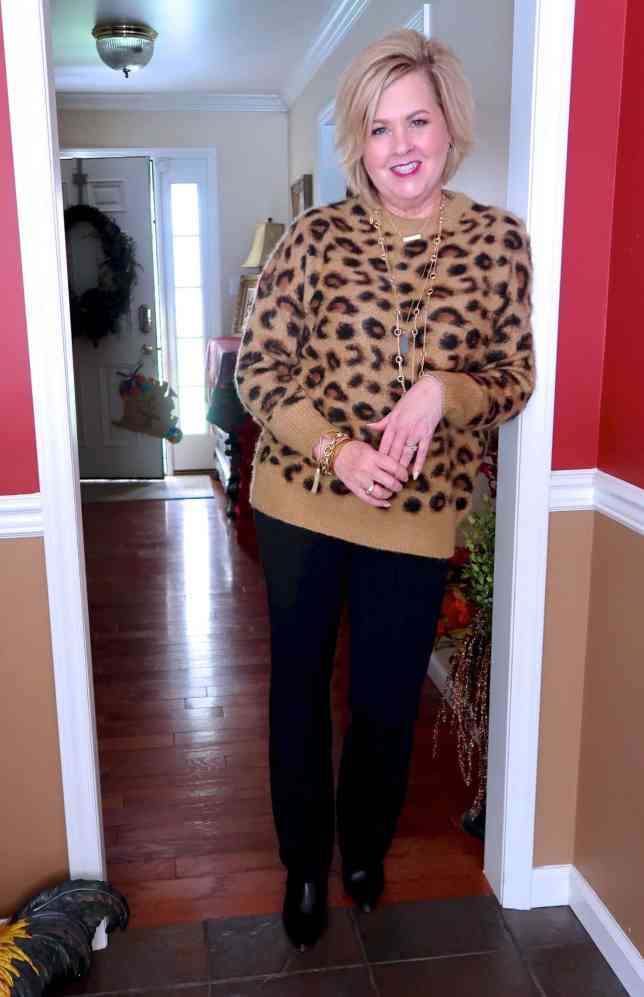 50 IS NOT OLD   CAN YOU HAVE TOO MUCH LEOPARD   FASHION OVER 40
