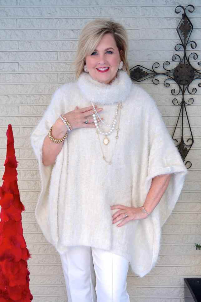 50 IS NOT OLD | WINTER WHITE HOLIDAY STYLE | FASHION OVER 40