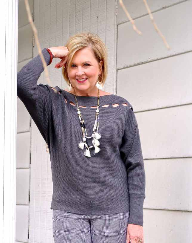 50 IS NOT OLD | WHY CHOOSE A BOATNECK NECKLINE | FASHION OVER 40