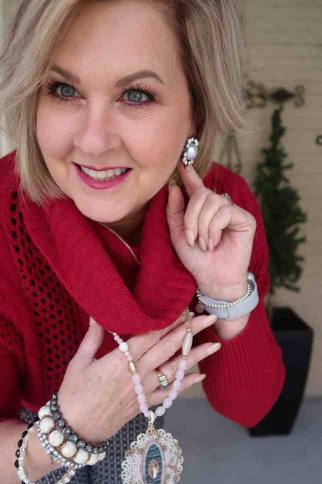 50 IS NOT OLD | THE FEAR OF WEARING RED | FASHION OVER 40