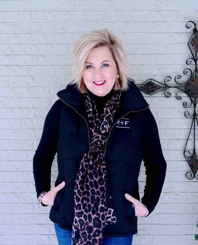 50 IS NOT OLD | HOW TO MAKE A PUFFER VEST STYLISH | FASHION OVER 40