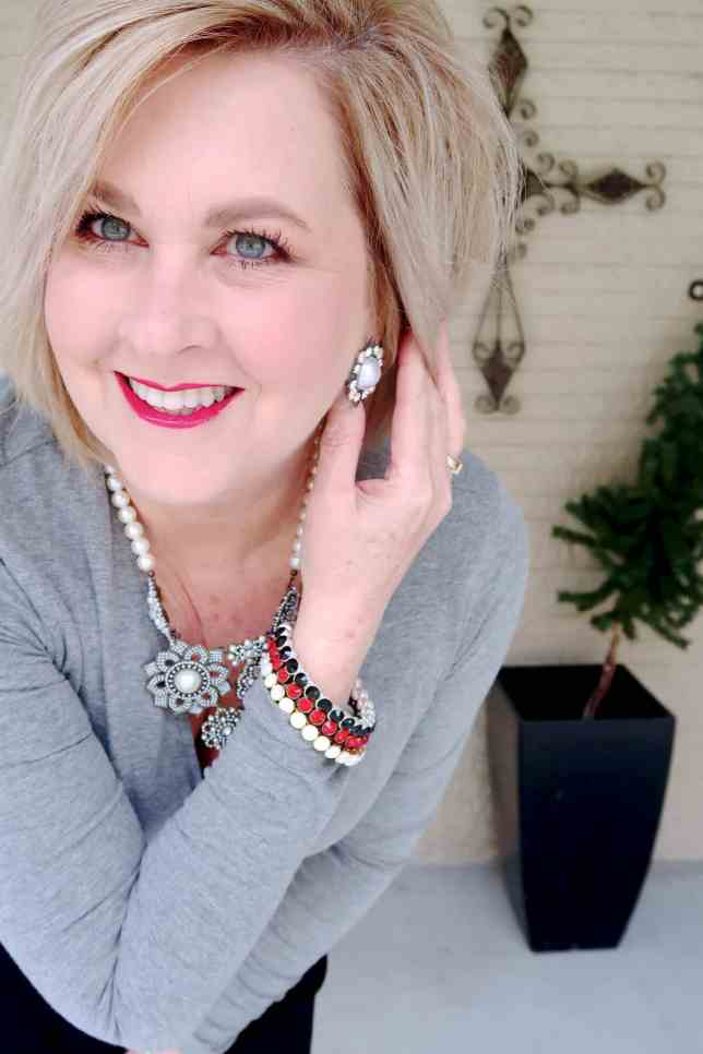 50 IS NOT OLD | WHAT TO WEAR ON A VALENTINE'S DAY DATE | FASHION OVER 40