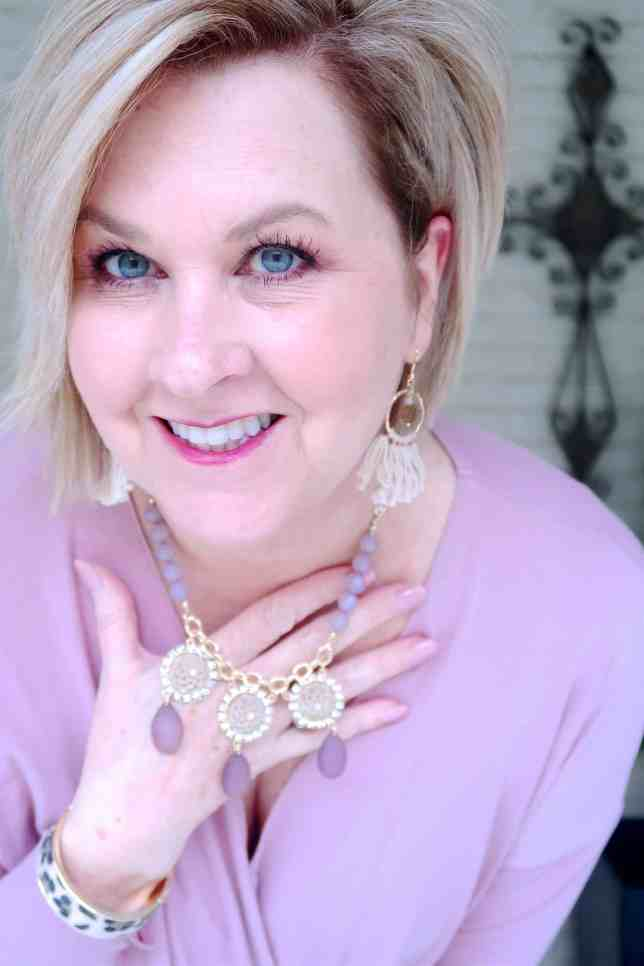 50 IS NOT OLD   A FAUX WRAP IS A FLATTERING STYLE   FASHION OVER 40