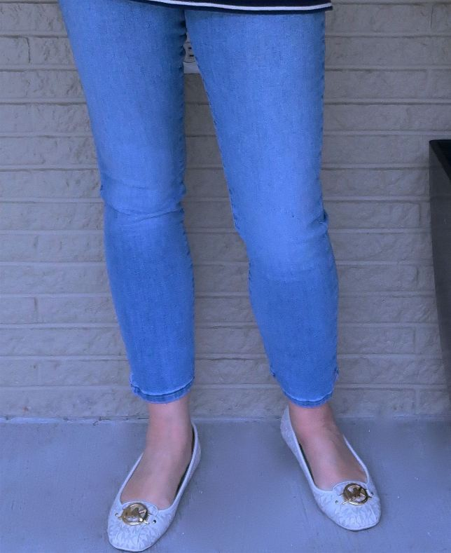 50 IS NOT OLD | WEARING FLATS WITH JEANS | FASHION OVER 40