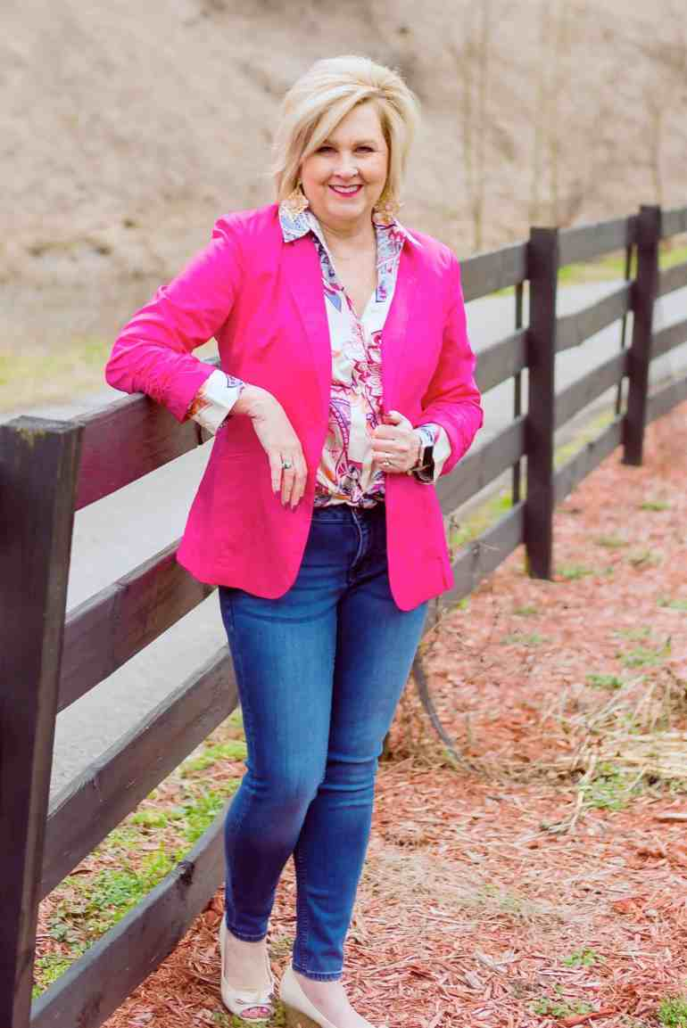 50 IS NOT OLD | PINK IS MY FAVORITE COLOR | FASHION OVER 40