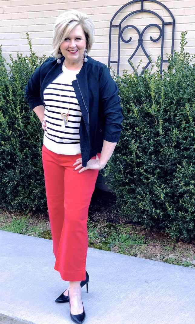 50 IS NOT OLD   GETTING READY FOR SPRING WEATHER   FASHION OVER 40