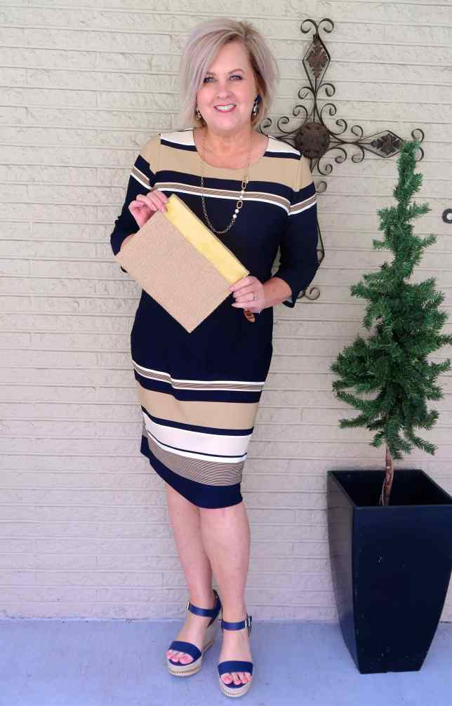 50 IS NOT OLD | IS A KNEE LENGTH DRESS RIGHT FOR YOU | FASHION OVER 40
