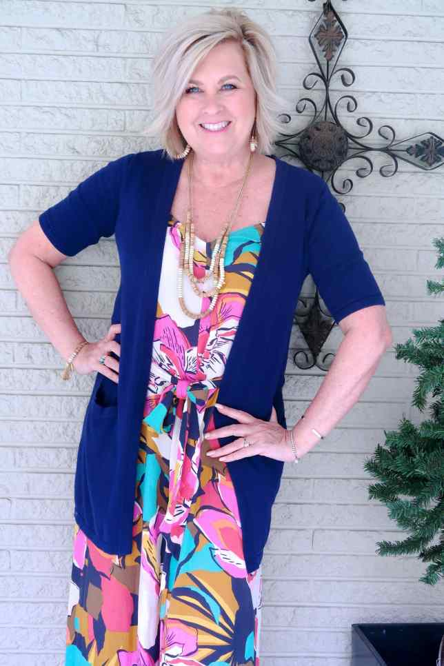 50 IS NOT OLD   TROPICAL JUMPSUIT FOR A BEACH STYLE   FASHION OVER 40