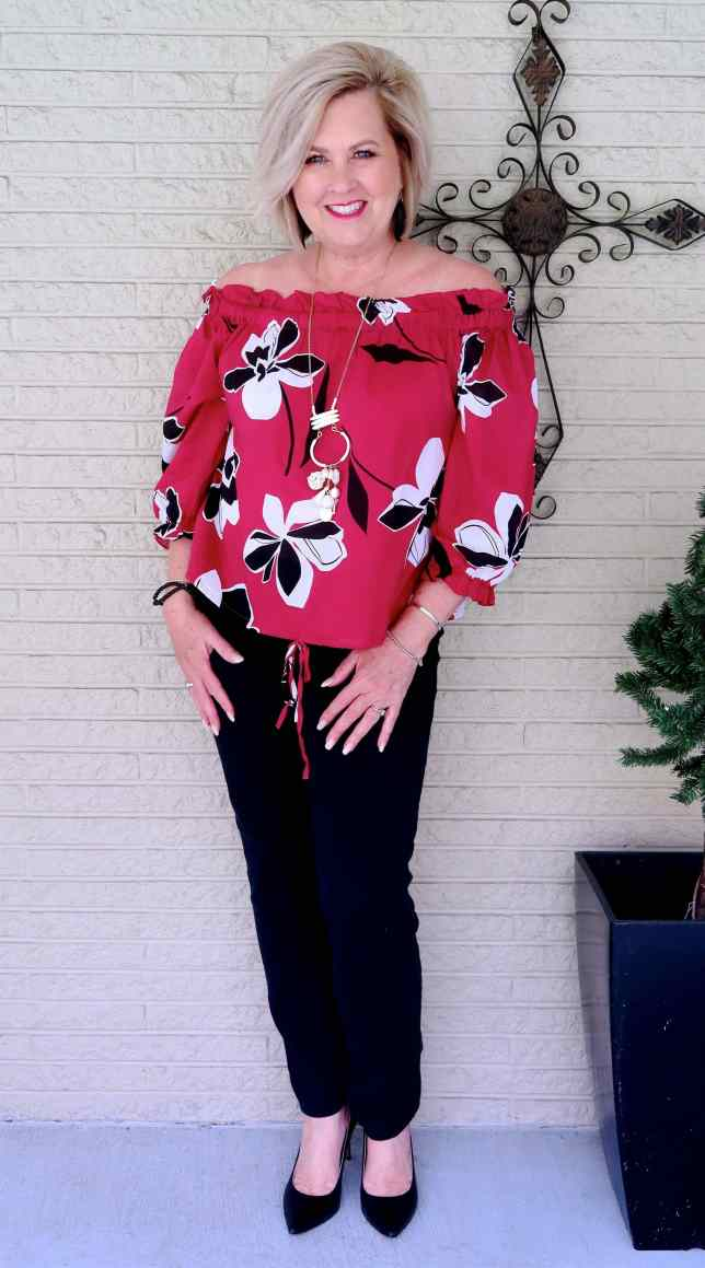 50 IS NOT OLD | WHAT'S BLACK AND WHITE AND RED ALL OVER | FASHION OVER 40