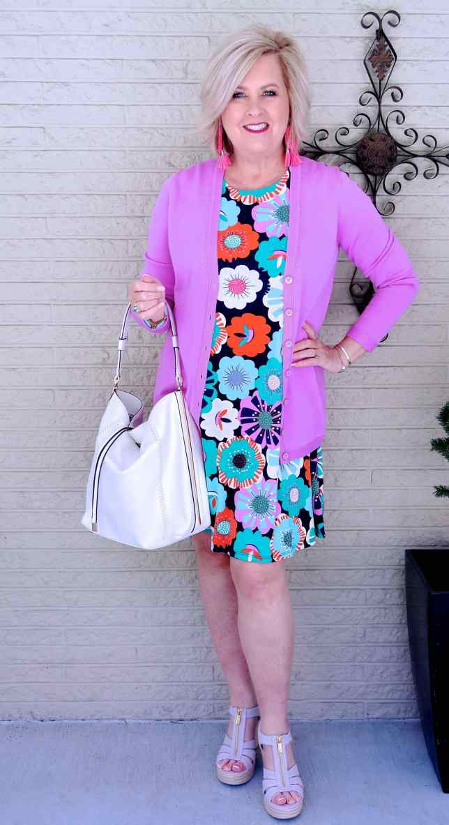 50 IS NOT OLD | FLORAL PRINTS FOR SUMMER | FASHION OVER 40