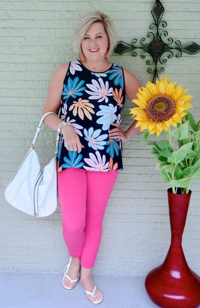 50 IS NOT OLD | TANK TOP AND ANKLE PANTS | FASHION OVER 40