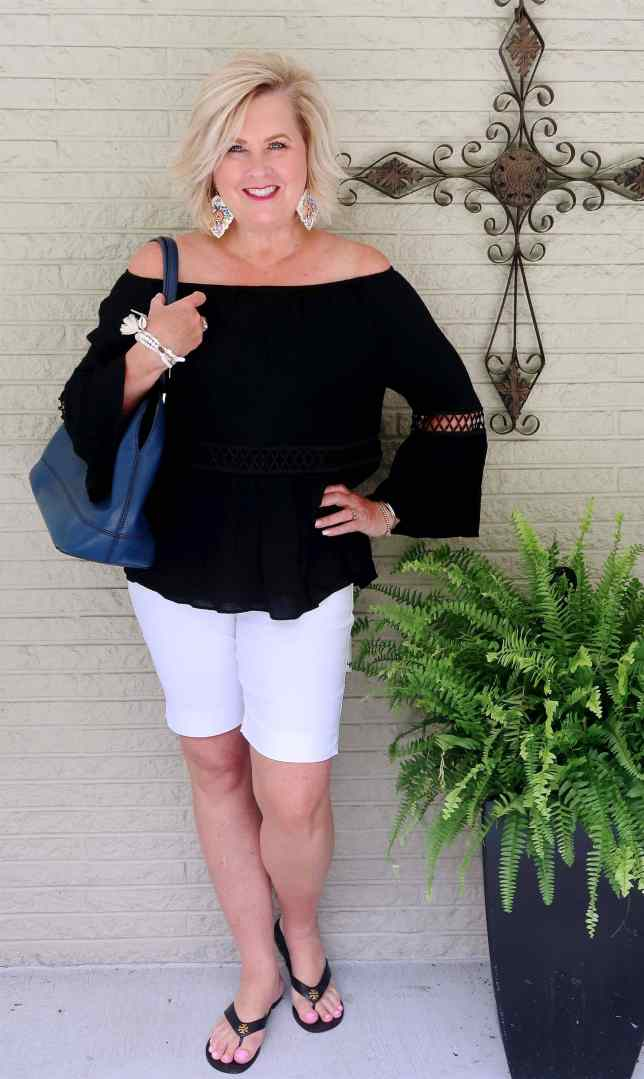 50 IS NOT OLD | CLASSIC BLACK AND WHITE FOR SUMMER | FASHION OVER 40