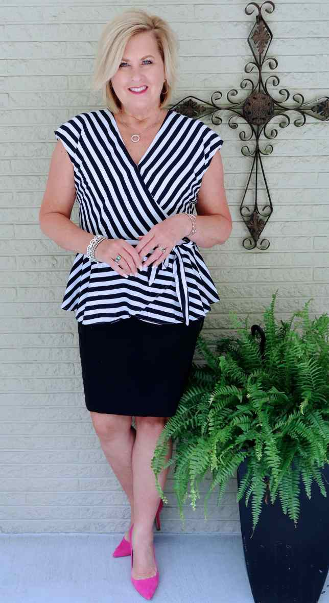 50 IS NOT OLD | STRIPES THAT ARE FLATTERING | FASHION OVER 40