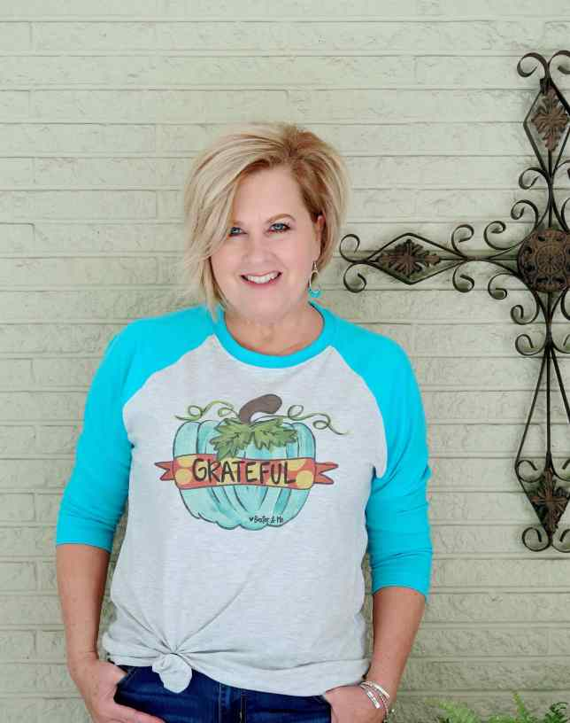 50 IS NOT OLD | FABULOUS FALL TEES | FASHION OVER 40
