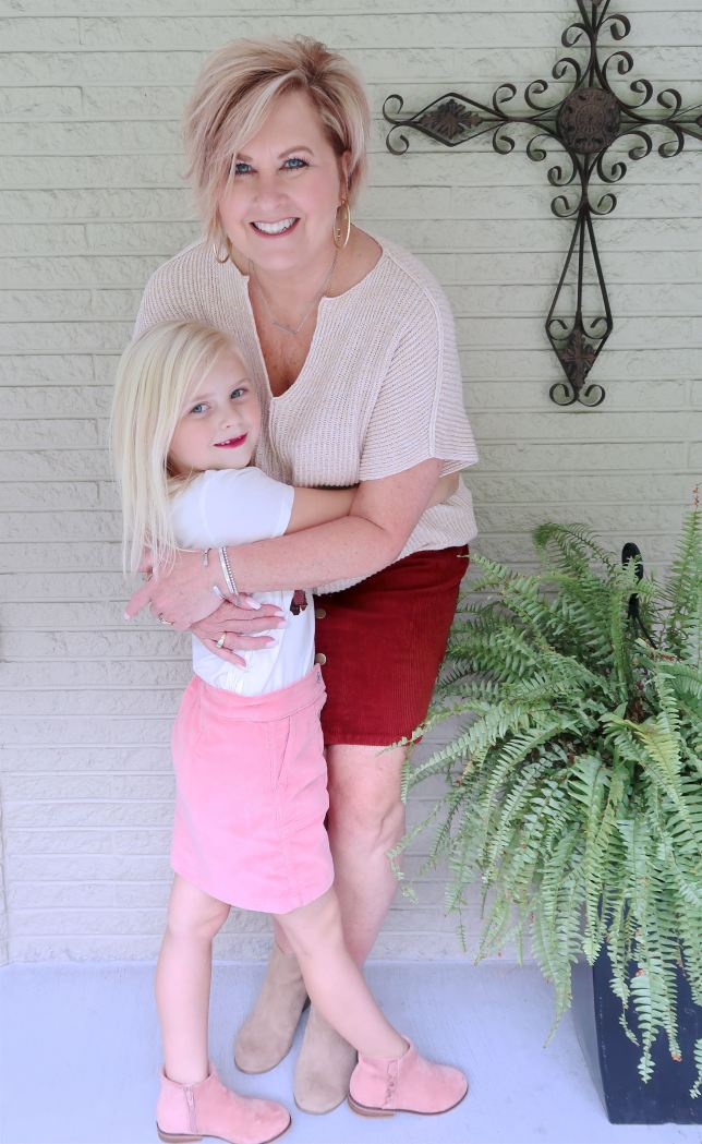 50 IS NOT OLD | TWINNING WITH MY GRANDDAUGHTER | FASHION OVER 40