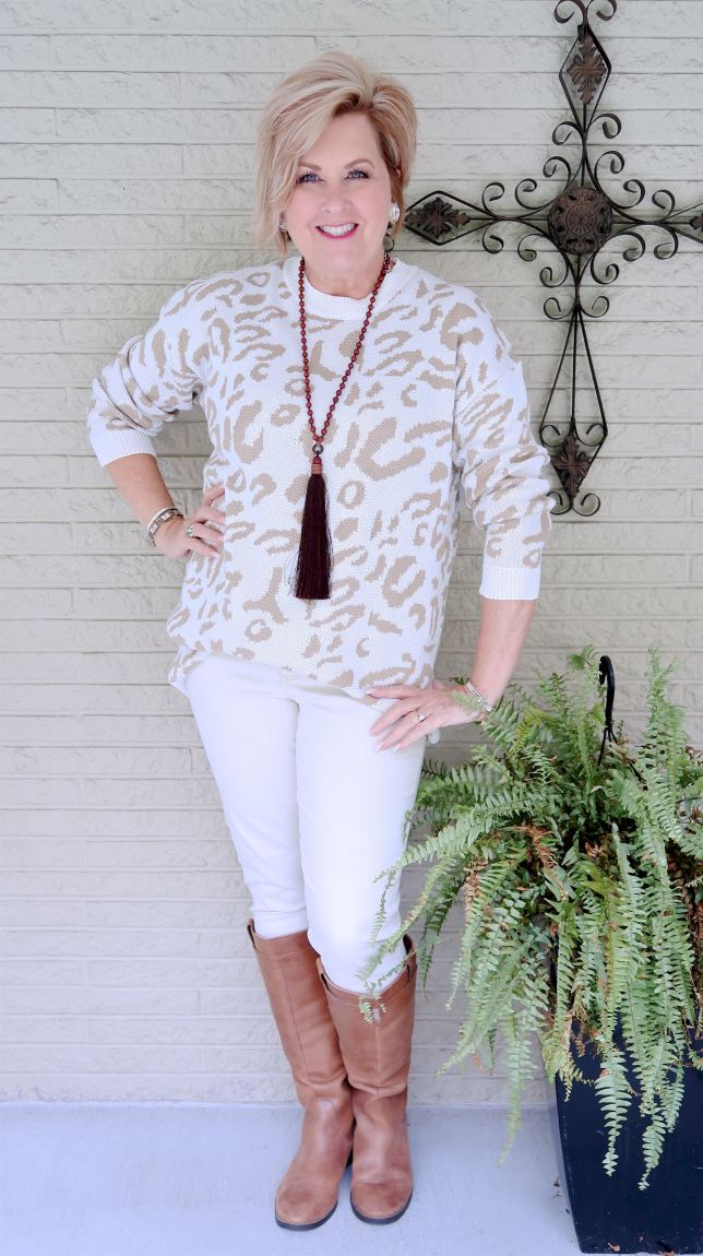 50 IS NOT OLD | WEARING WHITE IN THE FALL AND WINTER | FASHION OVER 40