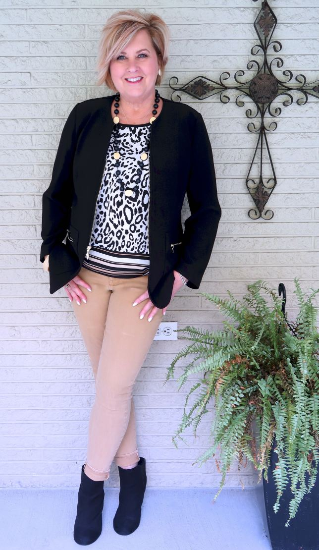 50 IS NOT OLD | HOW TO STYLE BLACK AND BROWN | FASHION OVER 40