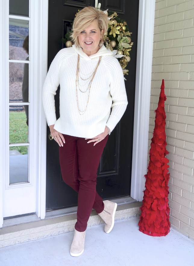 A relaxing outfit by Fashion Blogger 50 Is Not Old
