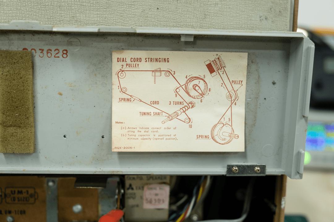 National T-100D Dial Stringing