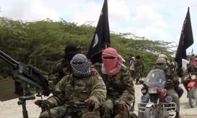 soldiers fighting terrorists - images 8 1 - Live video of soldiers fighting Boko Haram terrorists