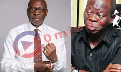 Ize Iyamu ize iyamu - Ize Iyamu - Ize Iyamu – Oshiomhole is My Worker, Not My Godfather