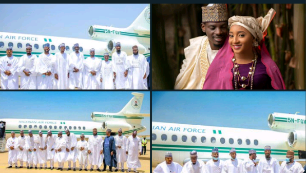 Buhari's Aide Disagrees With Sahara Reporters Over Use of Presidential Jet for His Wedding Ceremony Buhari's Aide Disagrees With Sahara Reporters Over Use of Presidential Jet for His Wedding Ceremony Screenshot 20200926 221440