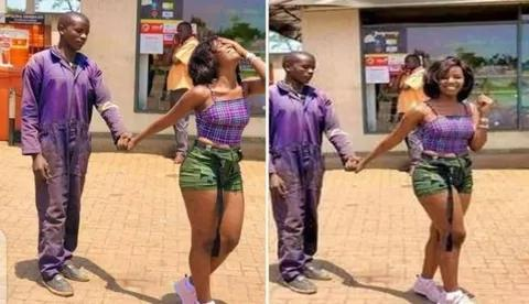 lady goes viral after pictures of her visiting mechanic boyfriend on duty surfaces online Lady Goes Viral After Pictures of Her Visiting Mechanic Boyfriend On Duty Surfaces Online 20201015091452  1596143551 5995355674811601727 480 276 80 webp