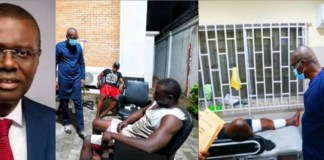 Governor Sanwo-Olu visits Lekki Toll gate shooting victims, says the state would take care of their medical bills