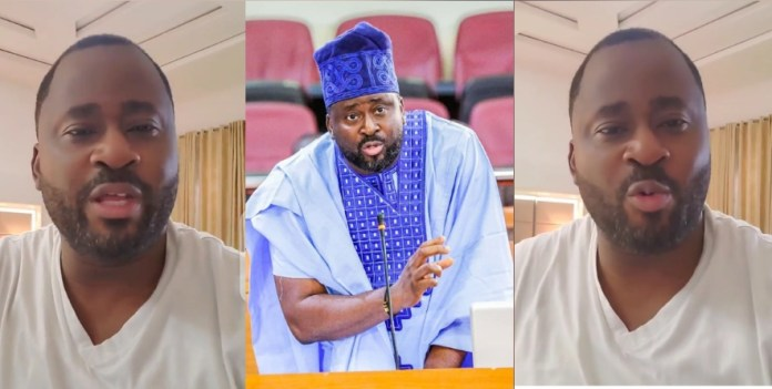 """i didn't mean to be insensitive, my emotions got the best of me""- desmond elliot apologizes to nigerians over comment made - 20201030 095756 1604048379596 - ""I didn't mean to be insensitive, my emotions got the best of me""- Desmond Elliot apologizes to Nigerians over comment made"