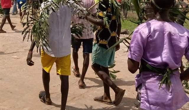 BENUE benue - BENUE - Benue Youths Protest Alleged Manhood 'Disappearance'