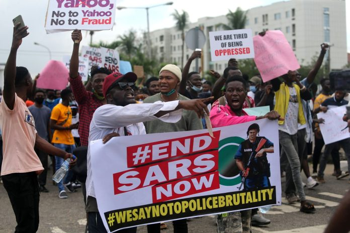 #ENDSARS: Every time we cry for justice, we get killed - EUMG2XAKP4I6XILG3RBJWOANCA scaled - #ENDSARS: Every time we cry for justice, we get killed