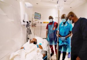 Governor Sanwo-Olu visits Lekki Toll gate shooting victims, says the state would take care of their medical bills governor sanwo-olu visits lekki toll gate shooting victims, says the state would take care of their medical bills - Ek0fNPjX0AAIoDV 300x207 - Governor Sanwo-Olu visits Lekki Toll gate shooting victims, says the state would take care of their medical bills governor sanwo-olu visits lekki toll gate shooting victims, says the state would take care of their medical bills - Ek0fNPjX0AAIoDV - Governor Sanwo-Olu visits Lekki Toll gate shooting victims, says the state would take care of their medical bills