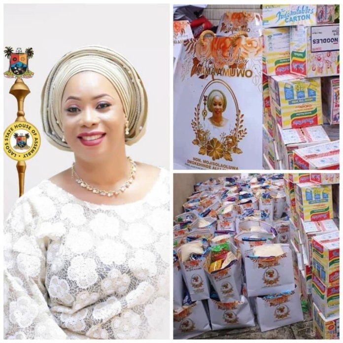 Hon. Mojisola Alli-Macauley Exposed; Used Covid19 palliatives As Birthday Souvenirs hon. mojisola alli-macauley - ElkYMX6XUAELelz - Hon. Mojisola Alli-Macauley Exposed; Used Covid19 palliatives As Birthday Souvenirs